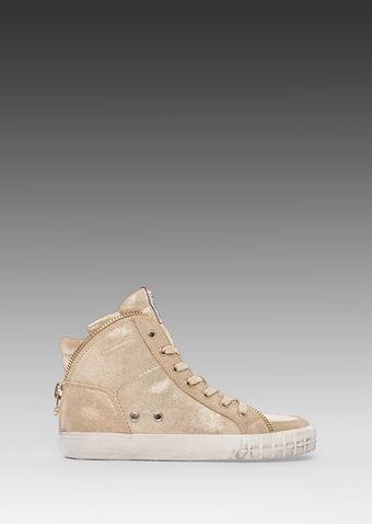Ash Shake Sneaker in Metallic Gold - Lyst