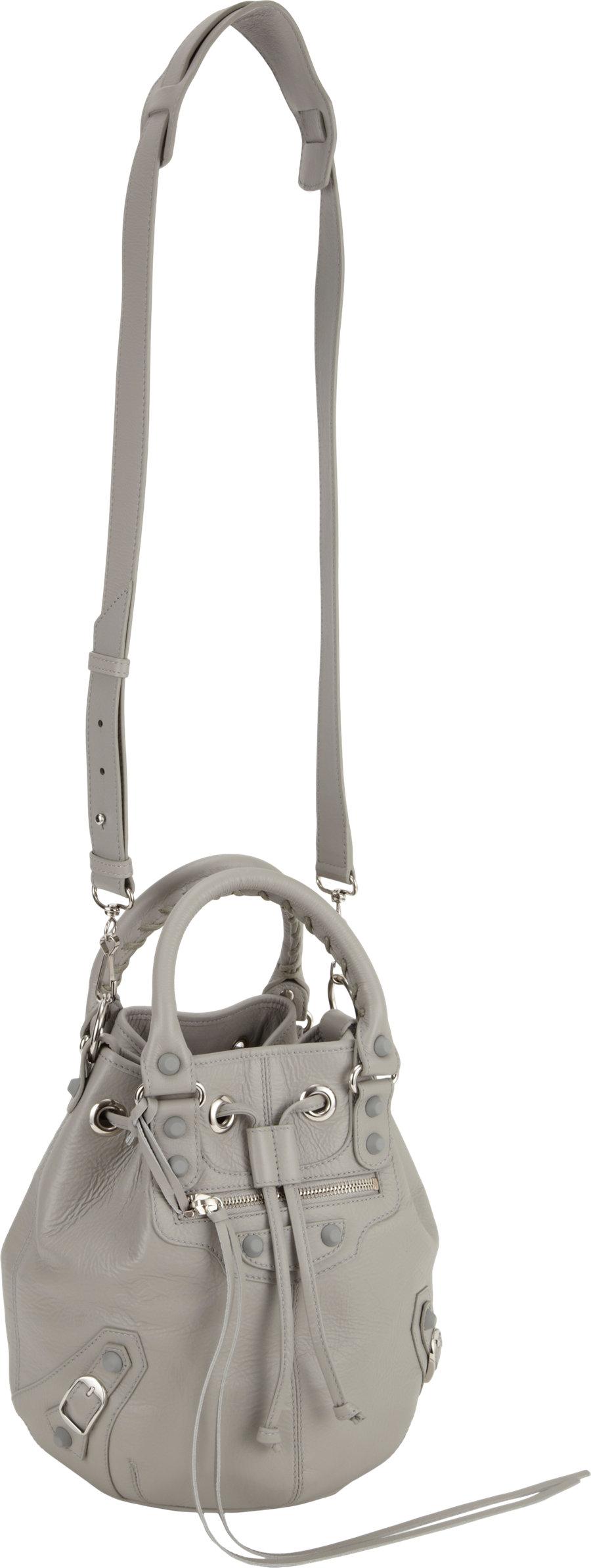 a21d86b3aa Balenciaga Classic Mini Pompon in Gray - Lyst
