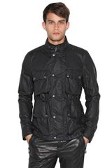 Belstaff Barningham Waxed Cotton Poplin Jacket - Lyst
