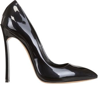 Casadei 120mm Patent Leather Blade One Pumps - Lyst