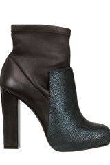 Charline De Luca 110mm Garbo Ray Calfskin Boots - Lyst