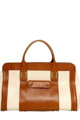 Chloé Large Alice Shiny Natural Leather Bag - Lyst
