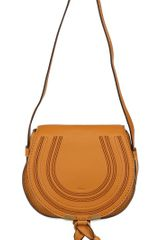 Chloé Small Marcie Leather Cross Body Bag - Lyst