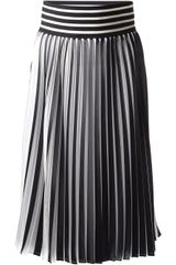 Christopher Kane Striped Skirt - Lyst