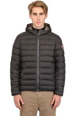 Colmar Originals Quilted Nylon Hooded Down Jacket - Lyst