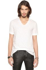 Diesel Black Gold Cotton Jersey V-neck T-shirt - Lyst