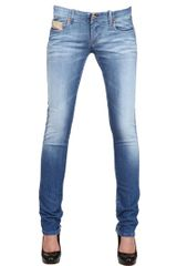 Diesel Stretch Denim Grupee Jeans - Lyst