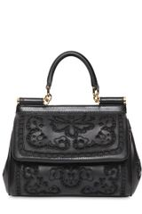 Dolce & Gabbana Small Miss Sicily Lambskin Top Handle - Lyst