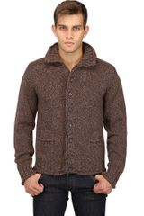 Dolce & Gabbana Virgin Wool Cardigan - Lyst