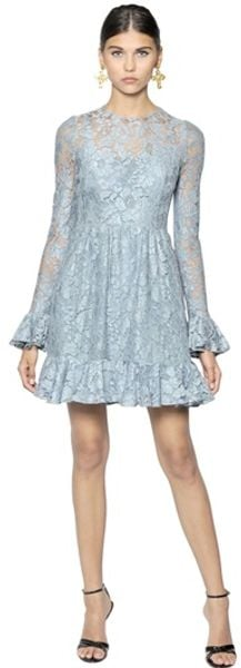 Dolce & Gabbana Cordonetto Lace Dress - Lyst