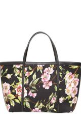 Dolce & Gabbana Medium Escape Printed Canvas Tote - Lyst