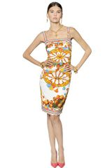 Dolce & Gabbana Viscose Cady Dress - Lyst