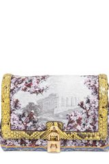 Dolce & Gabbana Brocaded Dolce Bag - Lyst