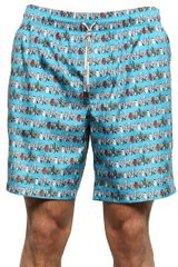 Dolce & Gabbana Printed Swimming Shorts - Lyst