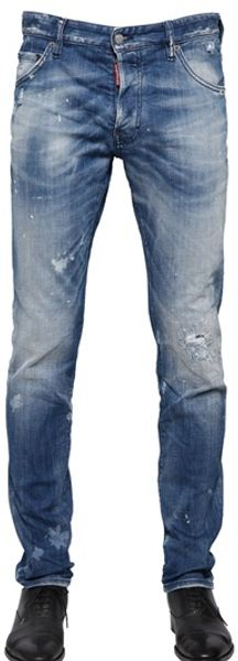 DSquared2 Cool Guy Fit Stretch Cotton Jeans - Lyst