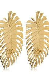 DSquared2 Leaf Earrings - Lyst