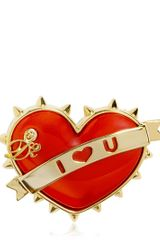 DSquared2 Heart Pin - Lyst