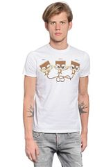 DSquared2 Cotton Jersey T-shirt - Lyst