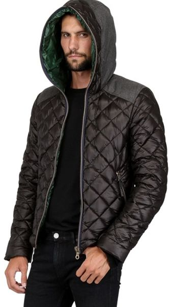 Duvetica Leonida Quilted Ripstop Down Jacket In Black For