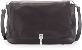 Elizabeth And James Cynie Lambskin Medium Crossbody Bag Black - Lyst