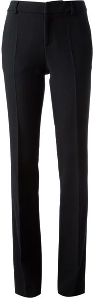 Emanuel Ungaro Crepè Tailored Trouser - Lyst