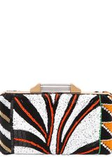 Emilio Pucci Beaded Box Clutch - Lyst