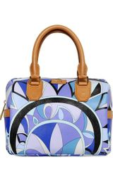 Emilio Pucci Printed Pvc Top Handle - Lyst