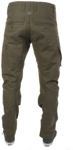 G Star Raw Powel 3d Tapered Trousers In Green For Men Lyst