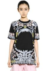 Givenchy Cotton Jersey Short Sleeved T-shirt - Lyst