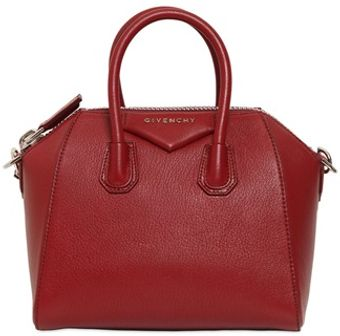 Givenchy Mini Antigona Grained Shoulder Bag - Lyst