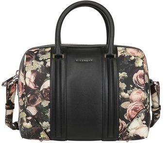 Givenchy Medium Lucrezia Roses Print Leather Bag - Lyst