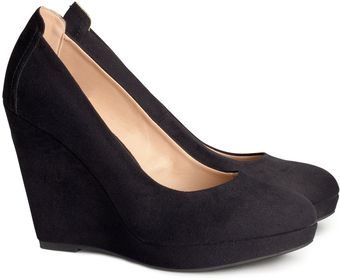 H&M Platform Court Shoes - Lyst