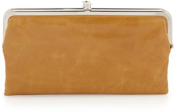 Hobo Lauren Doublesnap Kisslock Wallet Ginger - Lyst