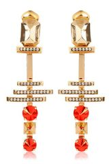 Iosselliani Deco Clip Earrings - Lyst