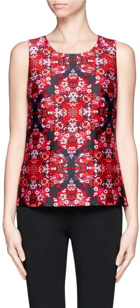 J.Crew Berry Bouquet Top - Lyst