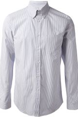 Jil Sander Striped Shirt - Lyst