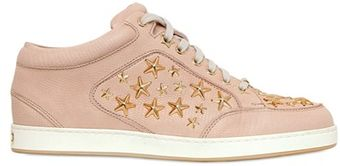 Jimmy Choo Miami Stars Lizard Print Low Sneakers - Lyst