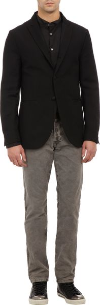 John Varvatos Two Button Twill Sportcoat - Lyst