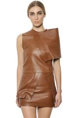 J.W. Anderson Nappa Leather Panel Top - Lyst