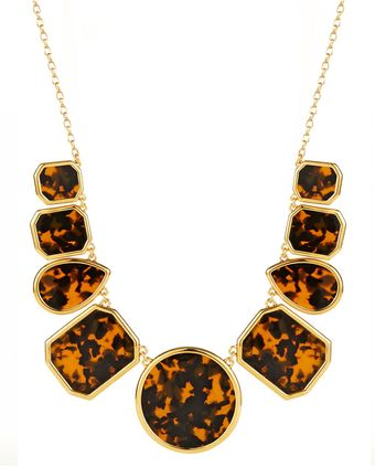Kate Spade Swirl Around Graduated Necklace - Lyst