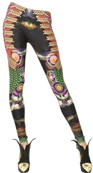 Manish Arora Printed Lycra Leggings - Lyst