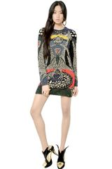 Manish Arora Sequin Embroidered Dress - Lyst