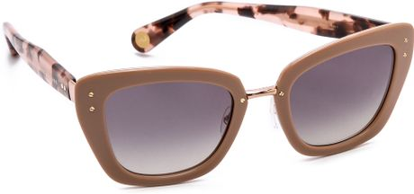 Marc Jacobs Sunglasses Thick Frame Sunglasses ...