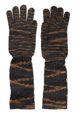 Missoni Wool Knit Gloves - Lyst