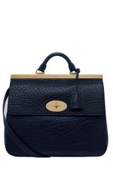 Mulberry Suffolk Textured Leather Shoulder Bag - Lyst