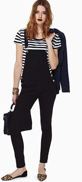 Nasty Gal Over It Overalls - Lyst
