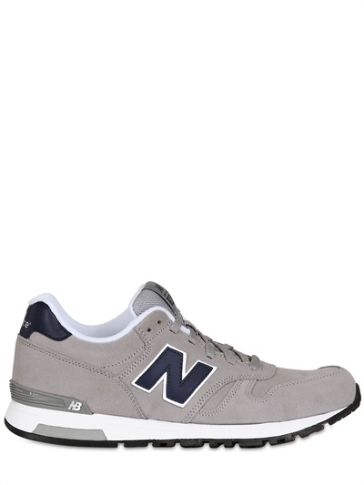 7549d033320a7 New Balance 565 Classic Suede Sneakers in Gray for Men - Lyst