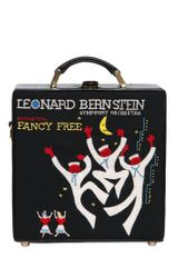 Olympia Le-Tan Leonard Bernstein 7 Inch Leather Bag - Lyst