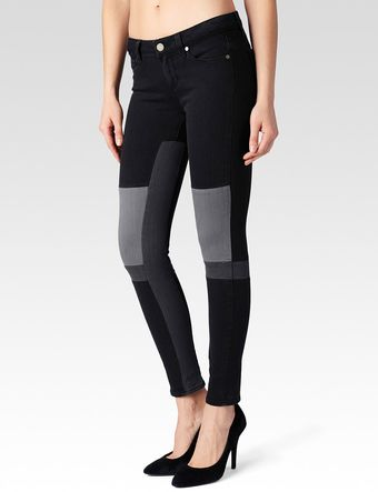 Paige Jet Set Dark Room Jean - Lyst