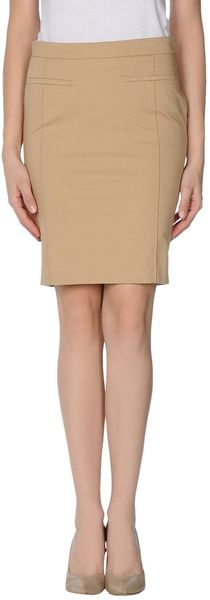 Patrizia Pepe Knee Length Skirt - Lyst